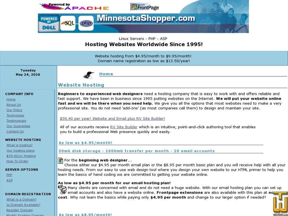 minnesotashopper.com Screenshot