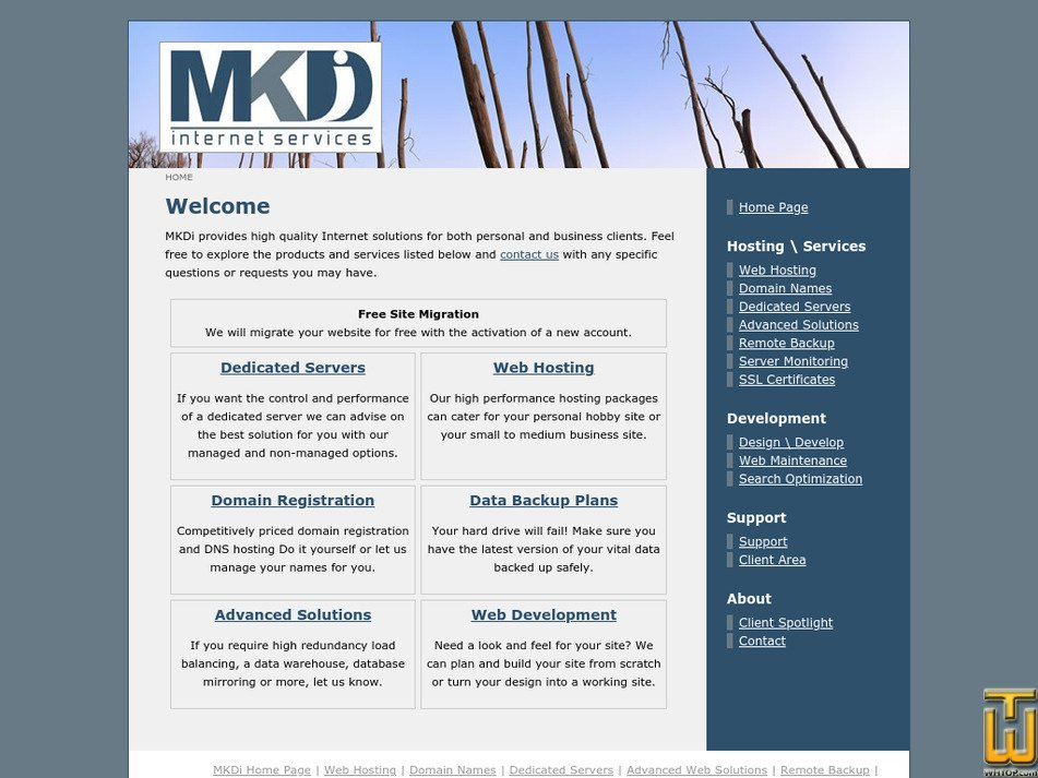 mkdi.net Screenshot