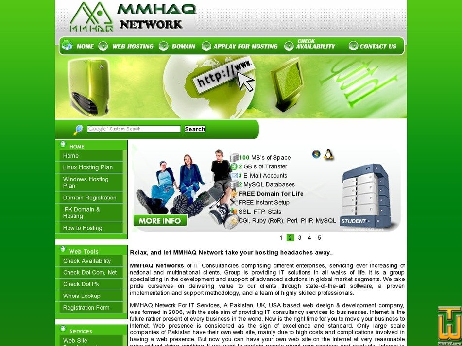mmhaq.net Screenshot