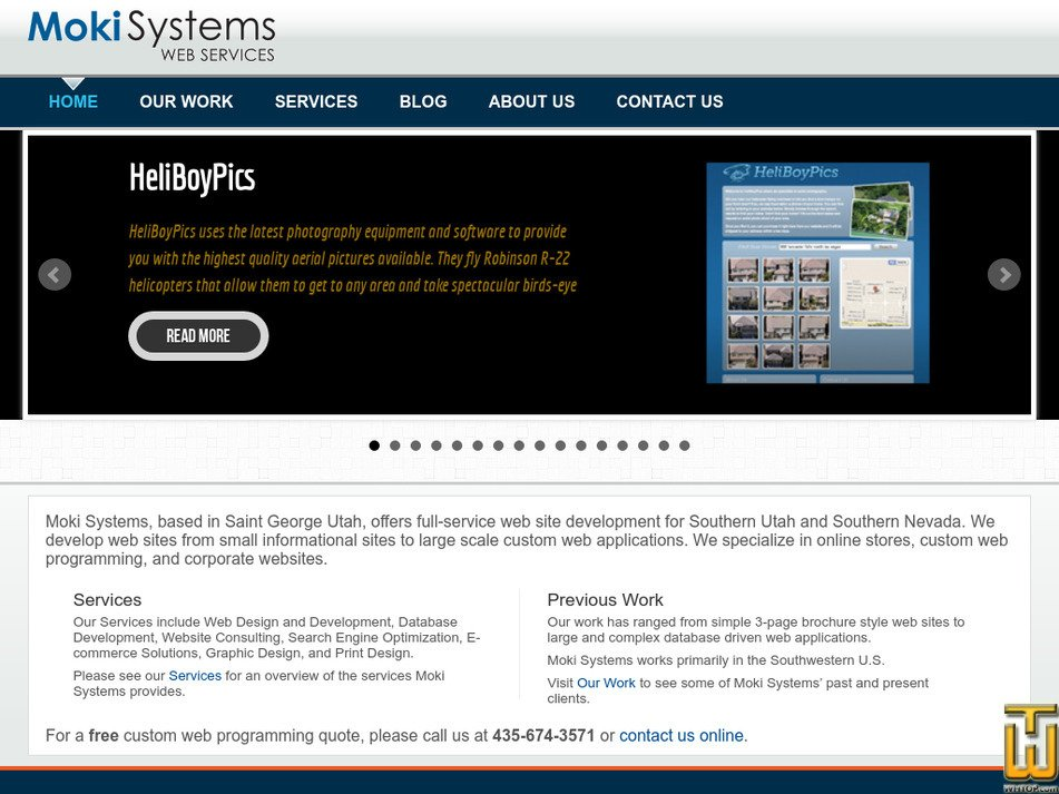 mokisystems.com Screenshot