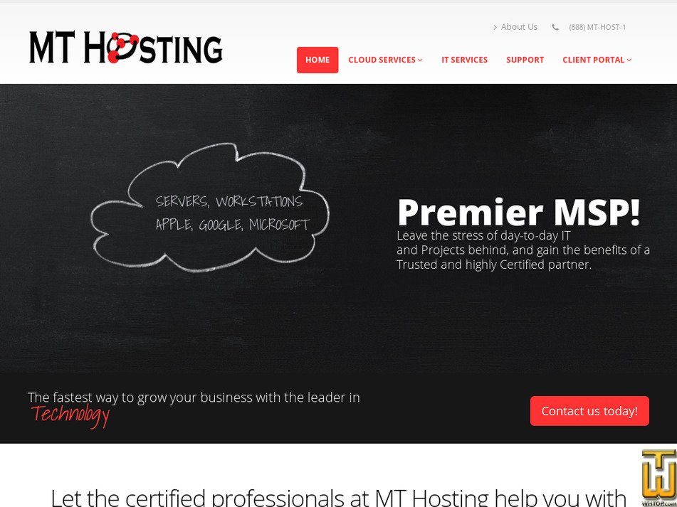mthosting.net Screenshot