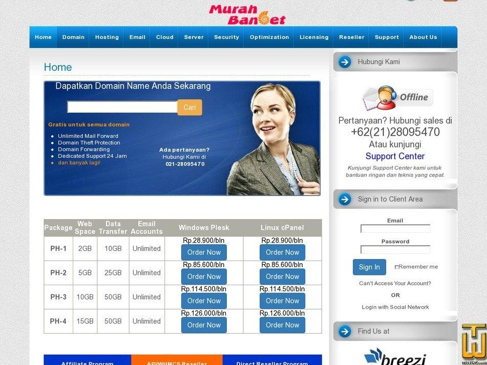 murah-banget.com Screenshot