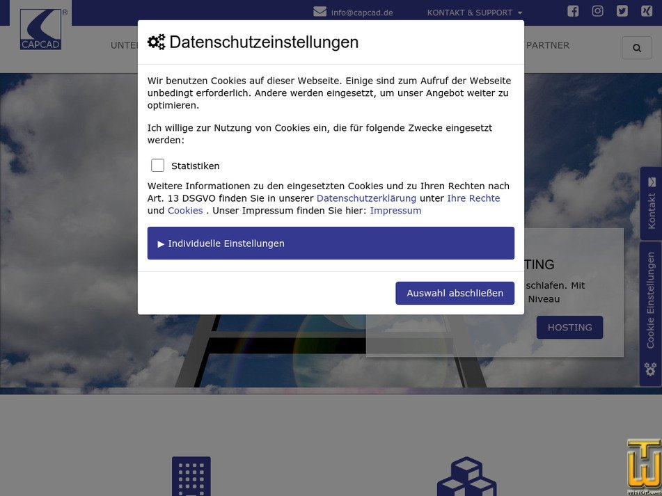 my-server-hosting.de Screenshot