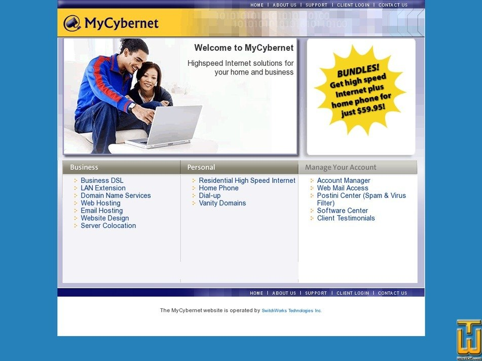 mycybernet.net Screenshot