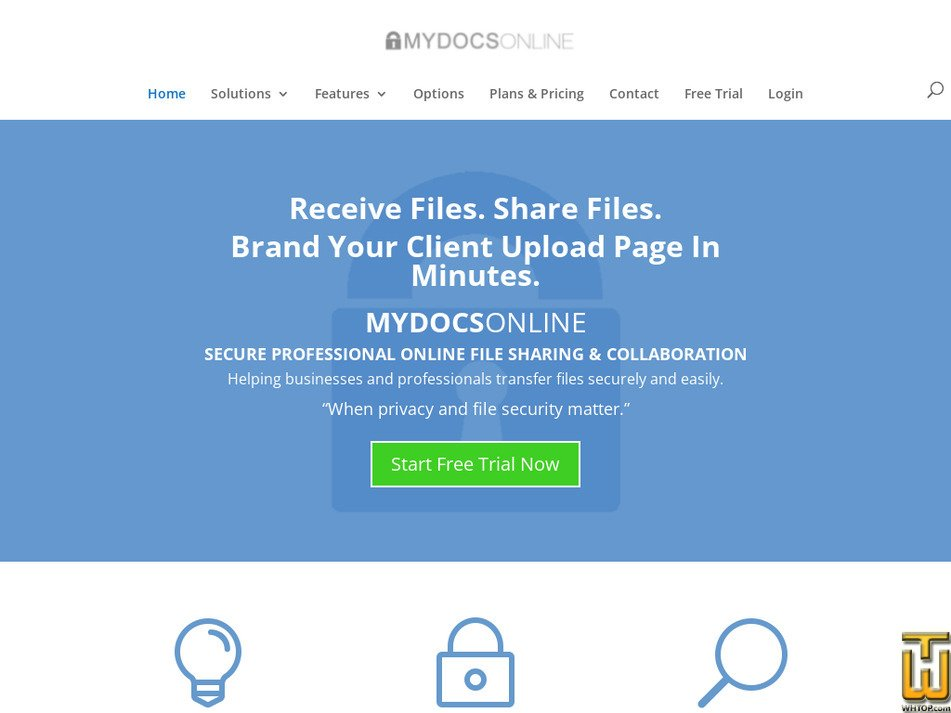 mydocsonline.com Screenshot