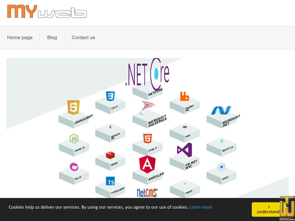 myweb.gr Screenshot