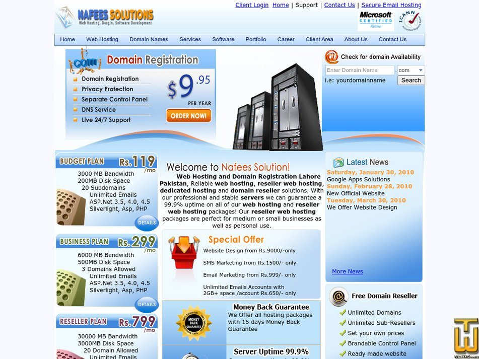 nafeessol.com Screenshot