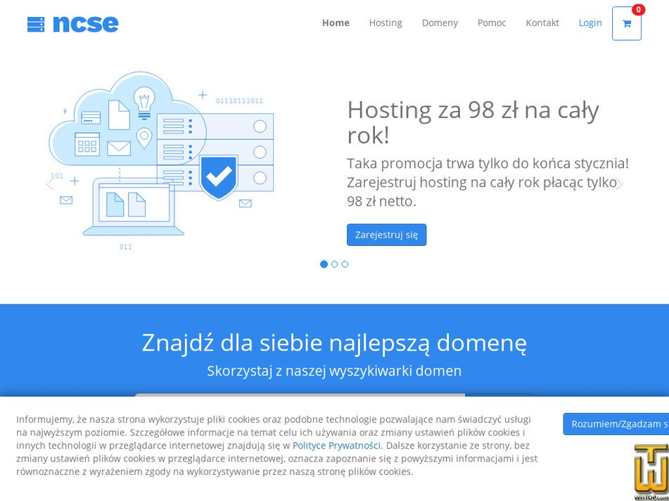ncse.pl Screenshot