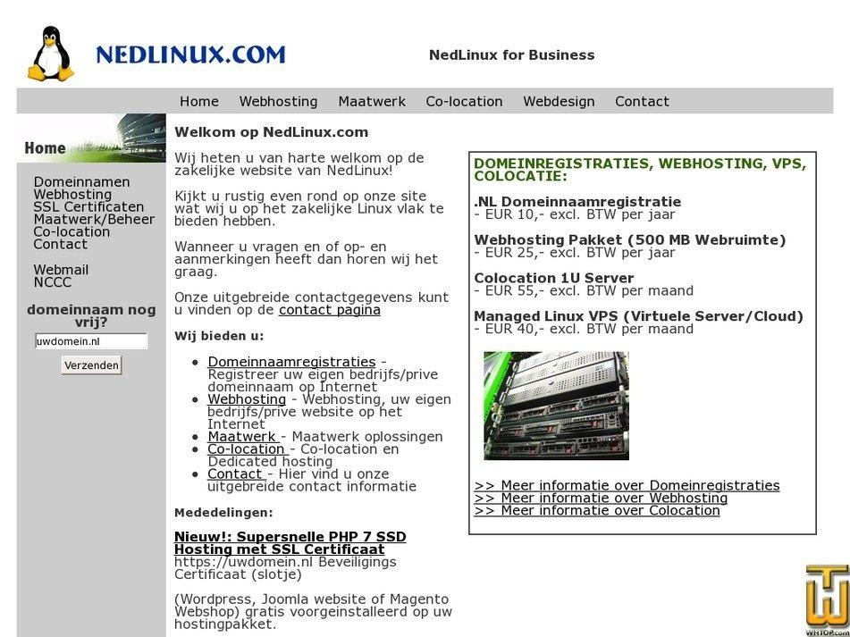 nedlinux.com Screenshot