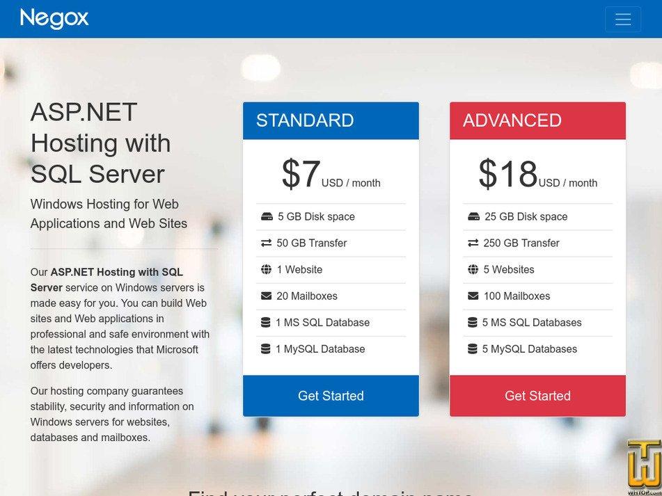 negox.com Screenshot