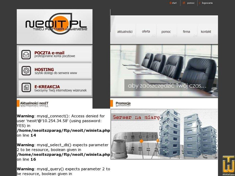 neoit.pl Screenshot