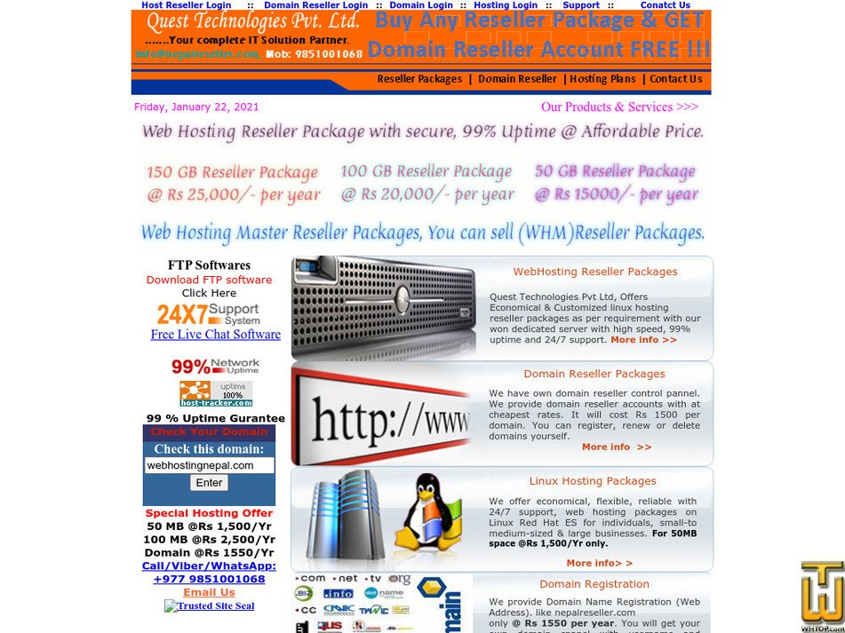 nepalreseller.com Screenshot