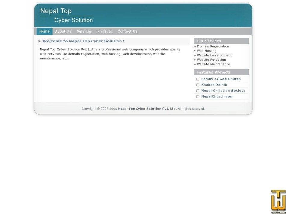 nepaltop.com.np Screenshot