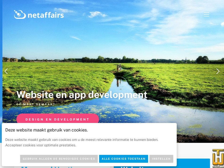 netaffairs.nl Screenshot