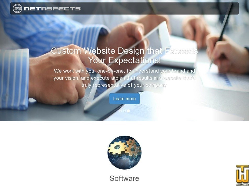 netaspects.com Screenshot
