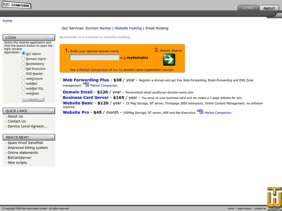 netassoc.co.nz Screenshot