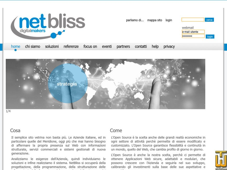 netbliss.it Screenshot