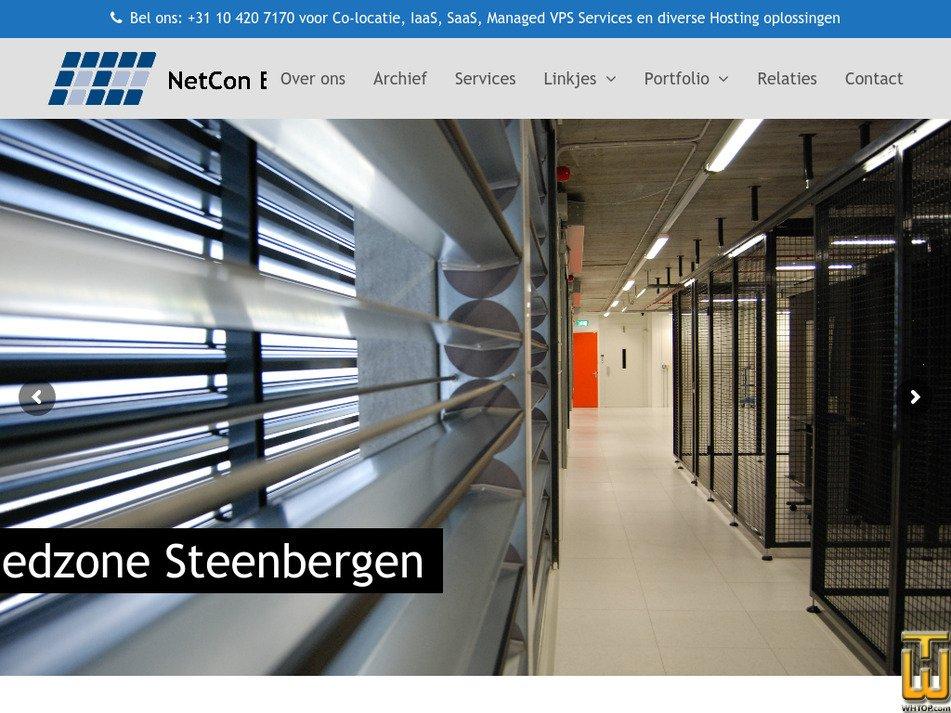 netcon.nl Screenshot