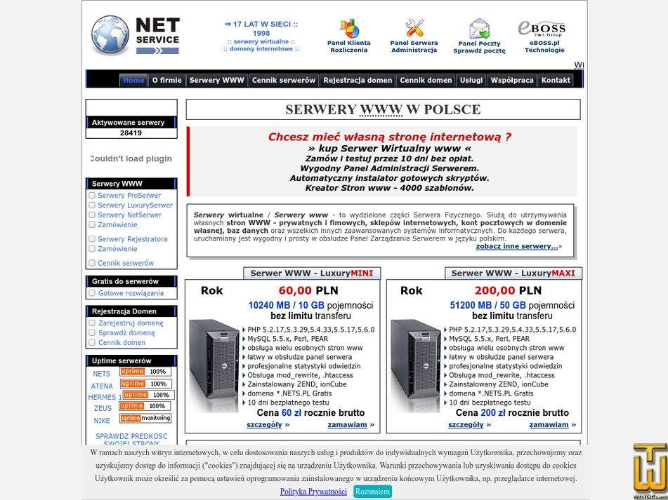 nets.pl Screenshot