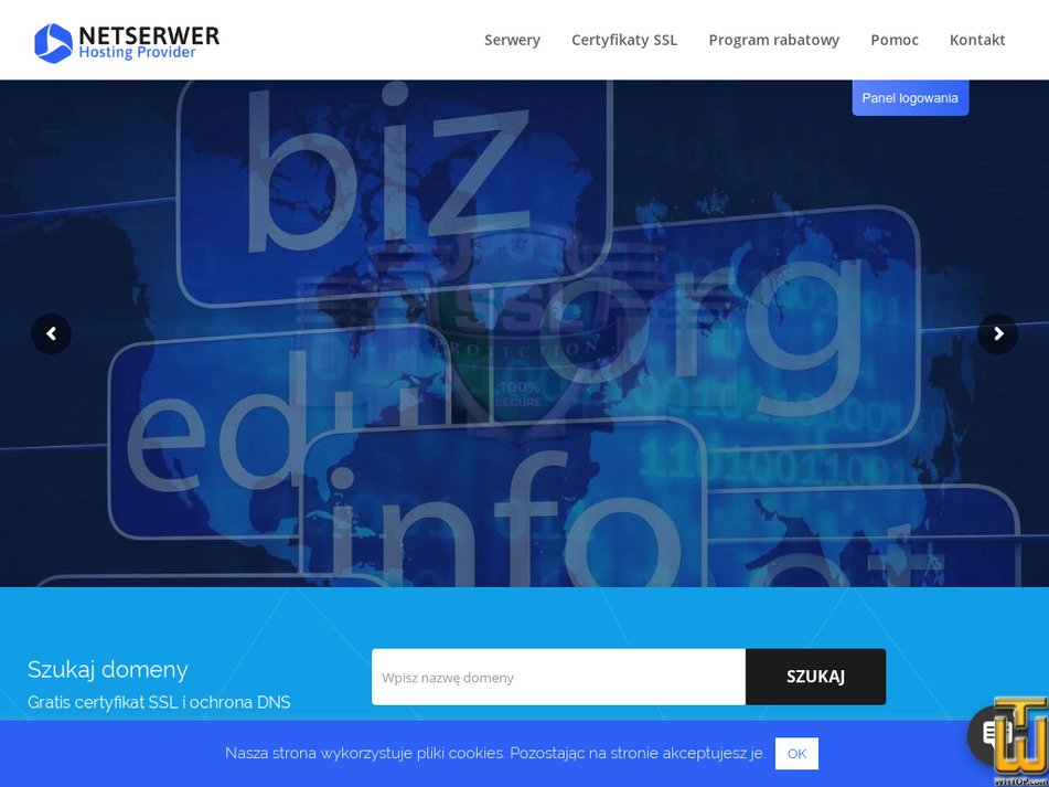 netserwer.pl Screenshot