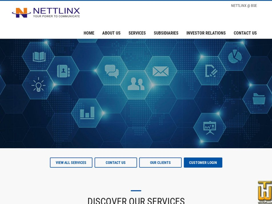 nettlinx.com Screenshot