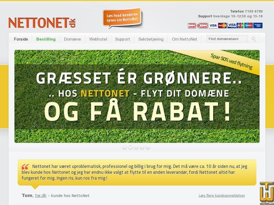 nettonet.dk Screenshot