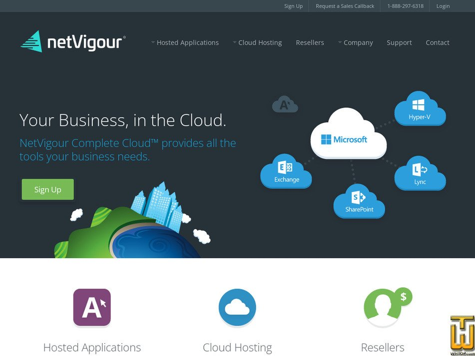 netvigour.com Screenshot
