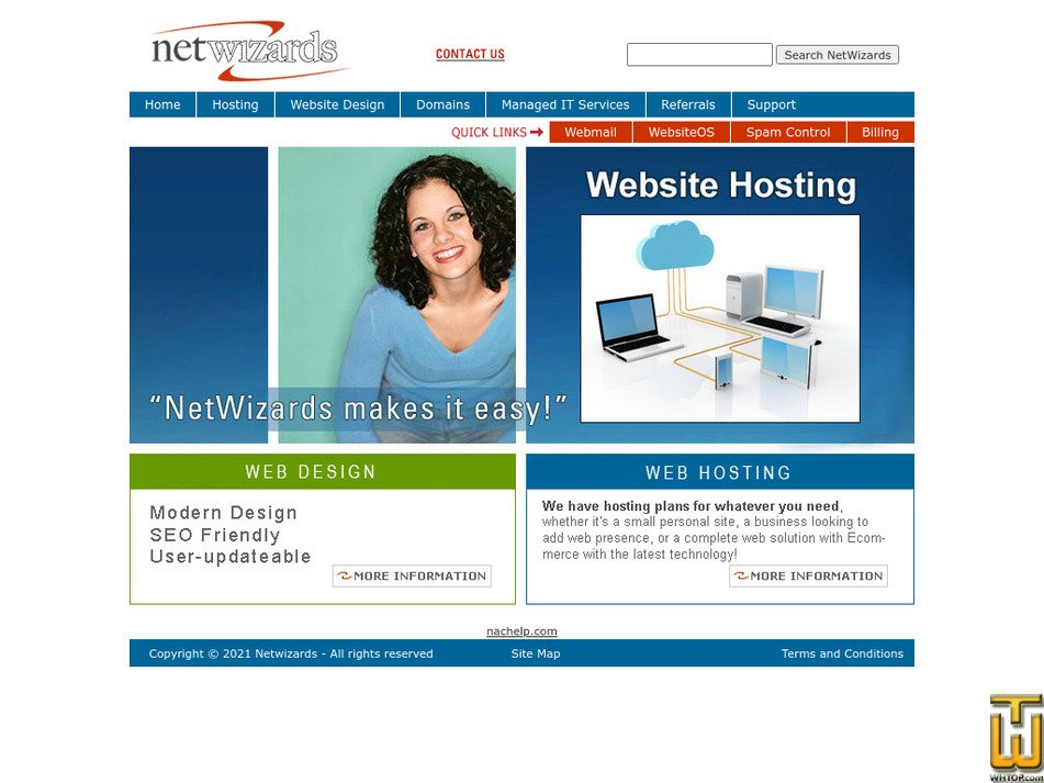 netwiz.net Screenshot