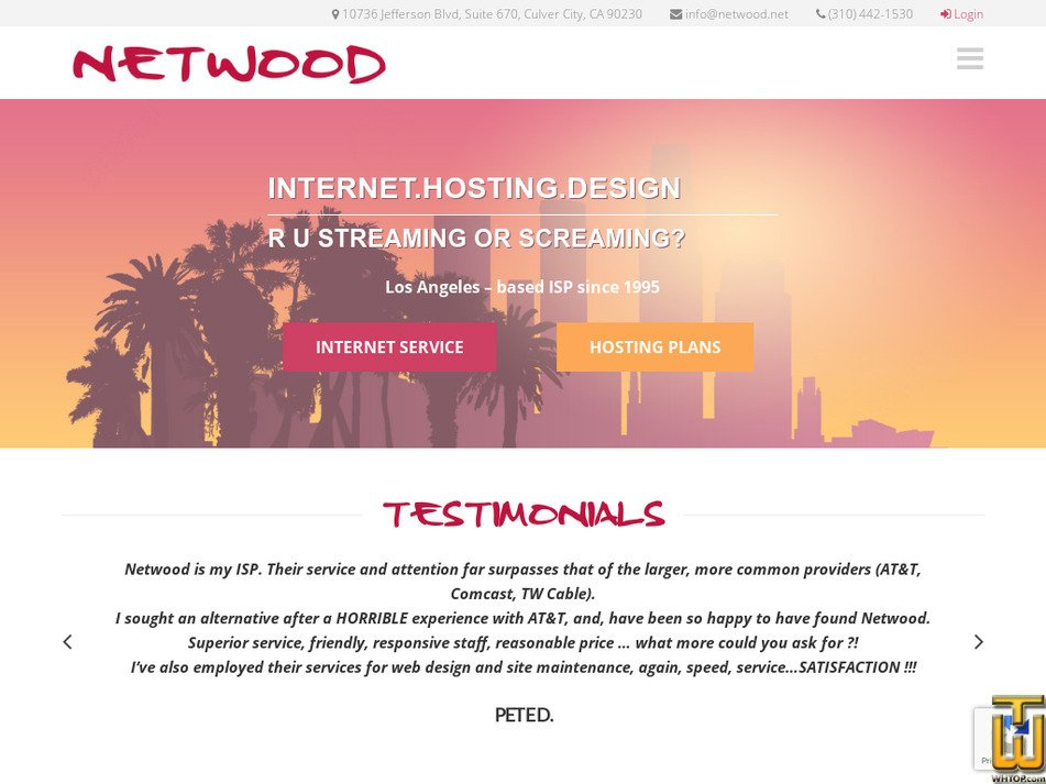 netwood.net Screenshot