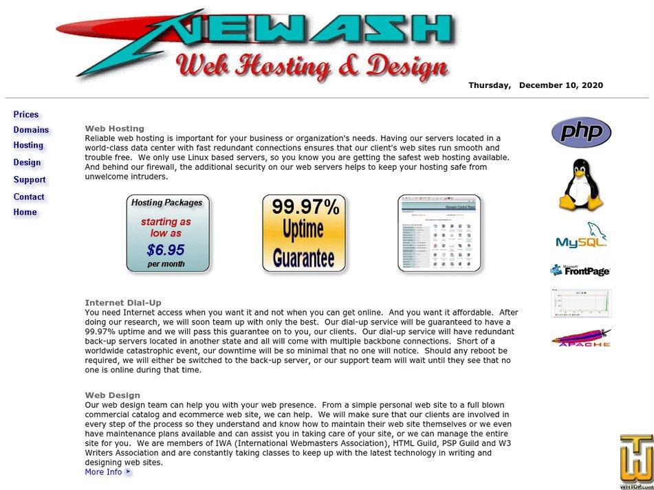 newash.com Screenshot