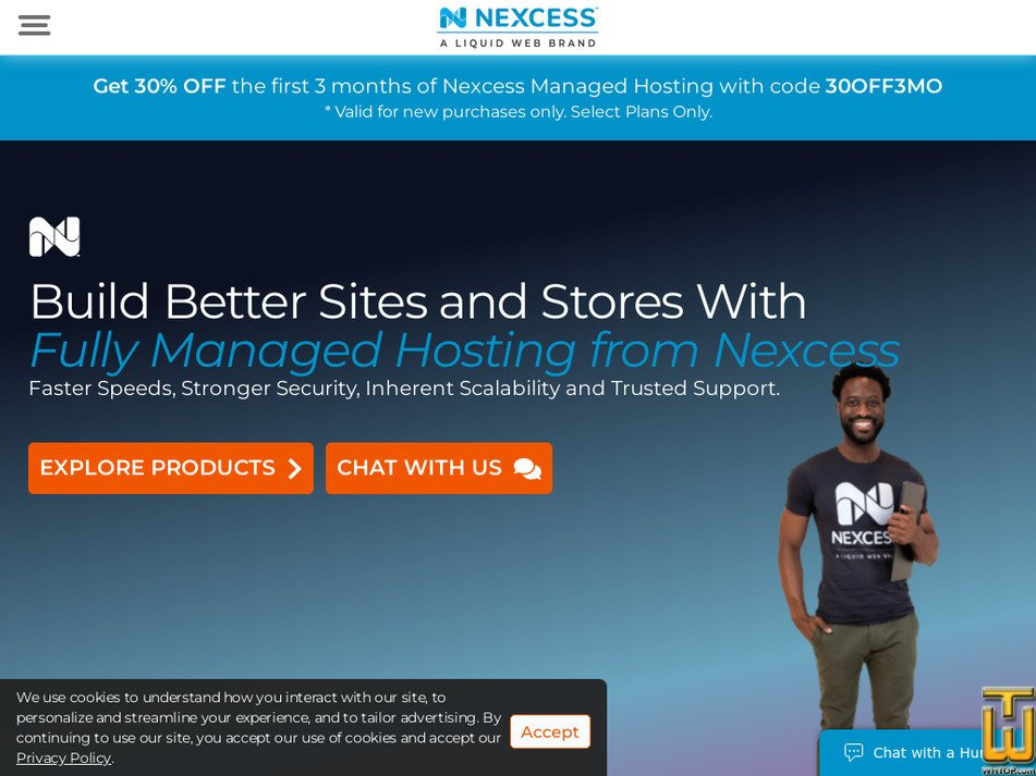nexcess.net Screenshot