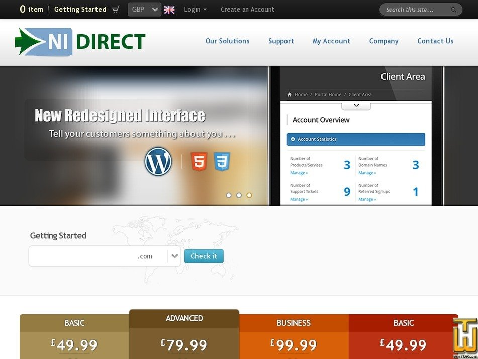 nidirect.com Screenshot