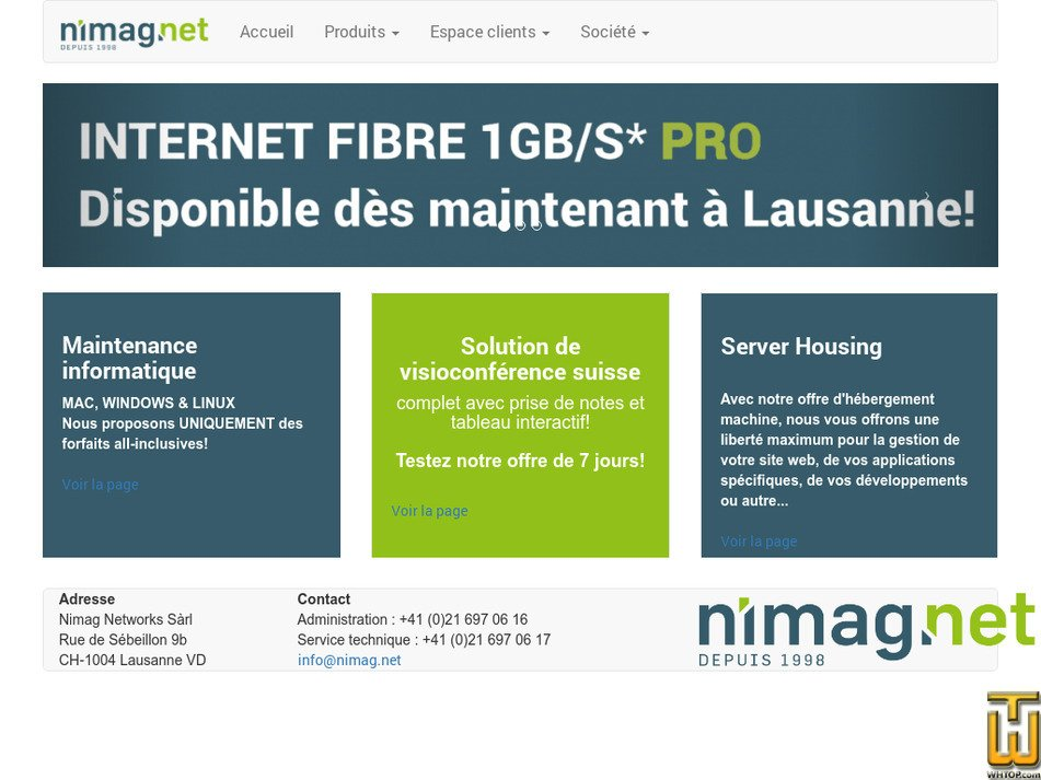 nimag.net Screenshot