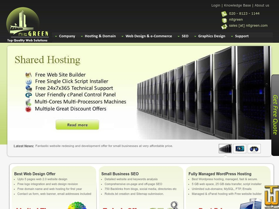 nitgreen.com Screenshot