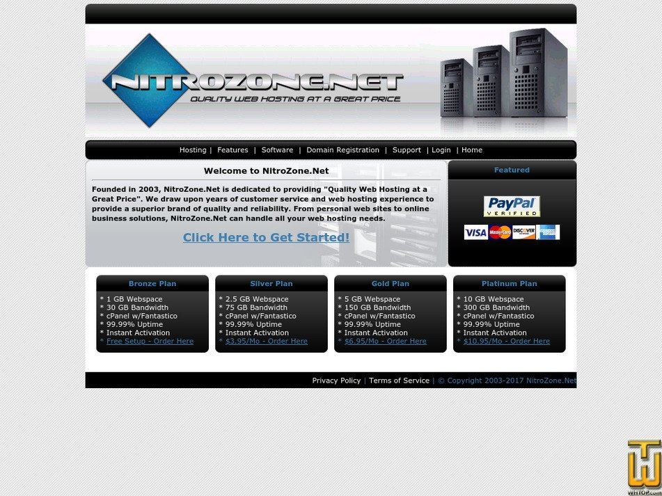 nitrozone.net Screenshot
