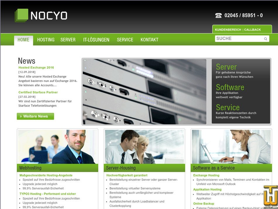 nocyo.de Screenshot