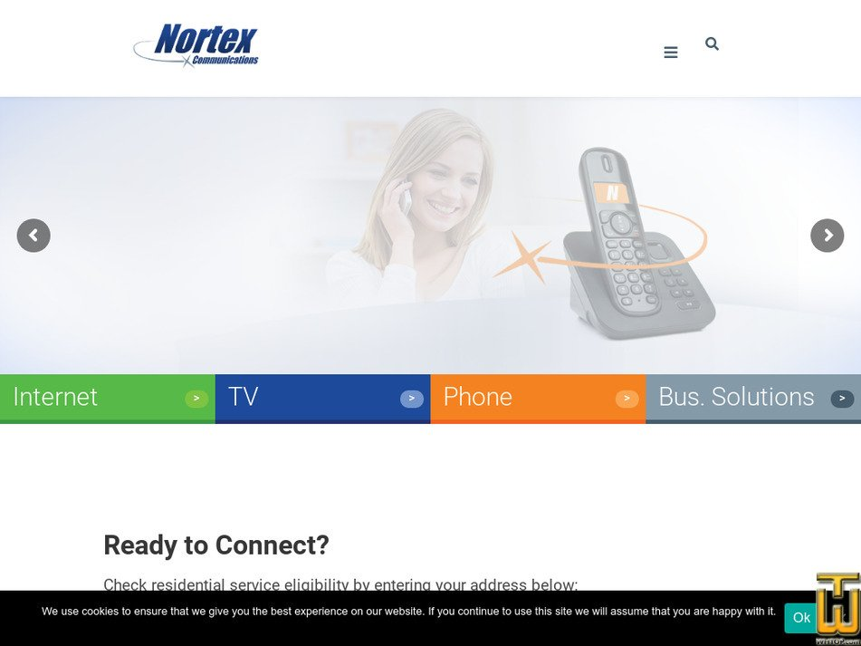 nortex.com Screenshot