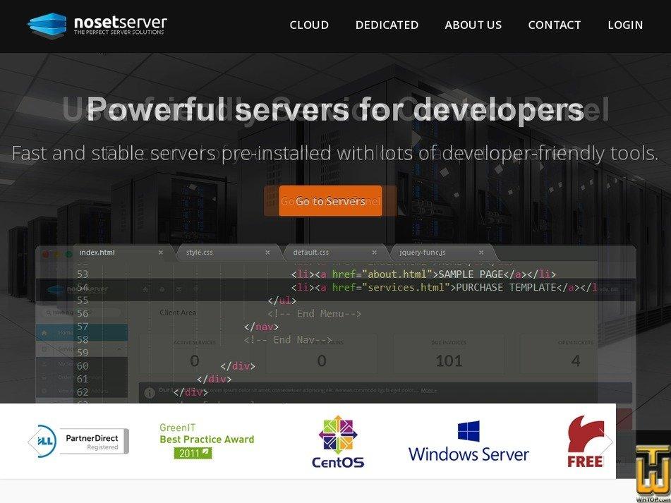 noset.net Screenshot