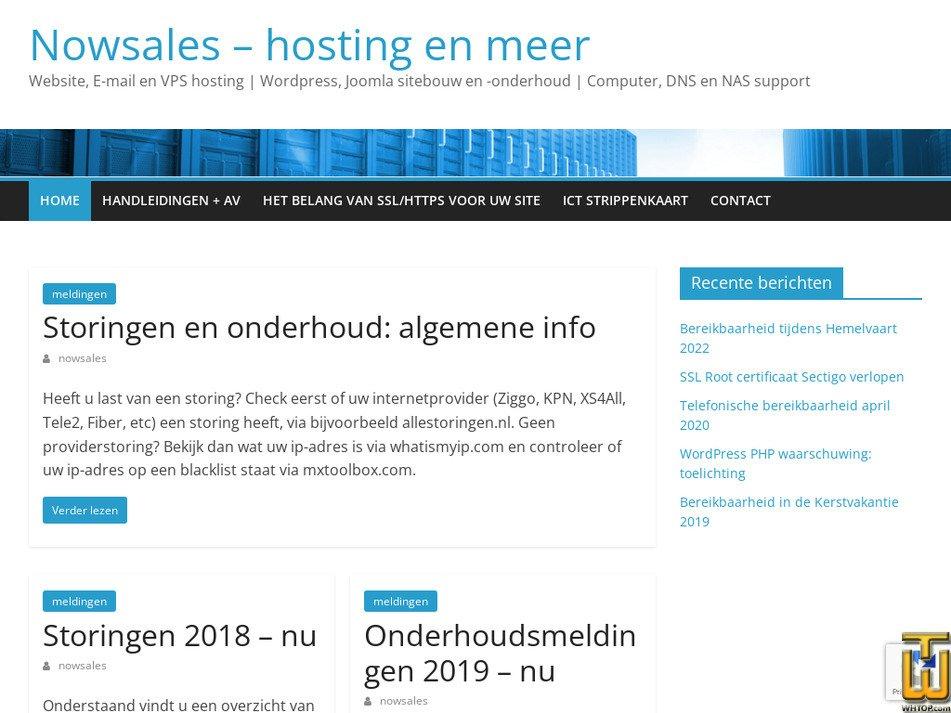 nowsales.nl Screenshot