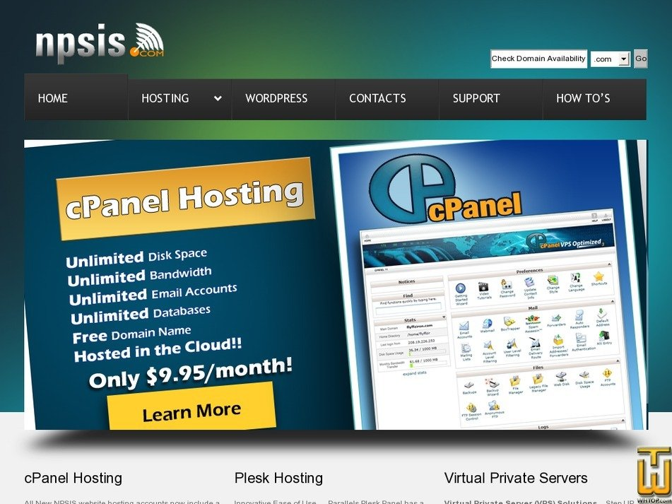 npsis.com Screenshot
