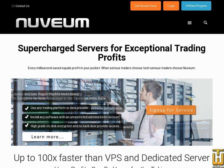nuveum.com Screenshot