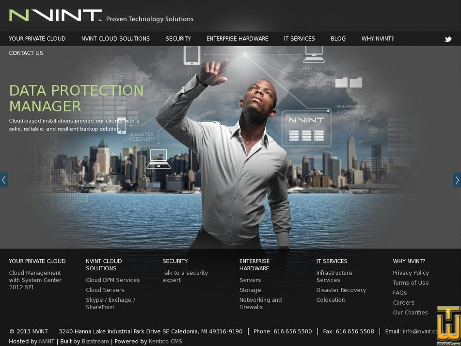 nvint.com Screenshot