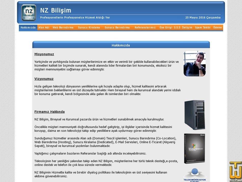 nzbilisim.com Screenshot