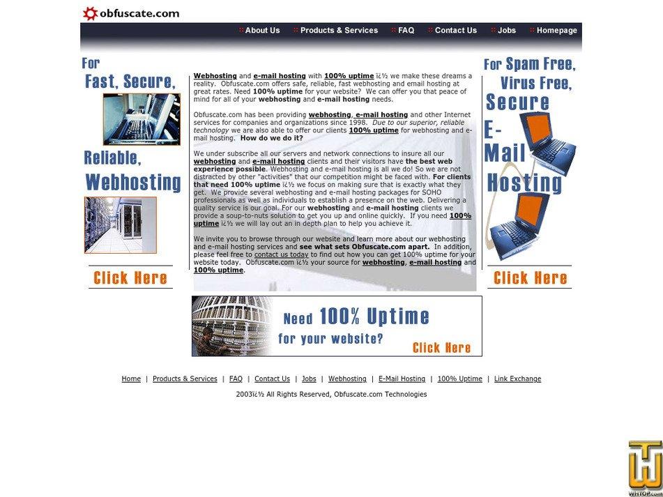 obfuscate.com Screenshot