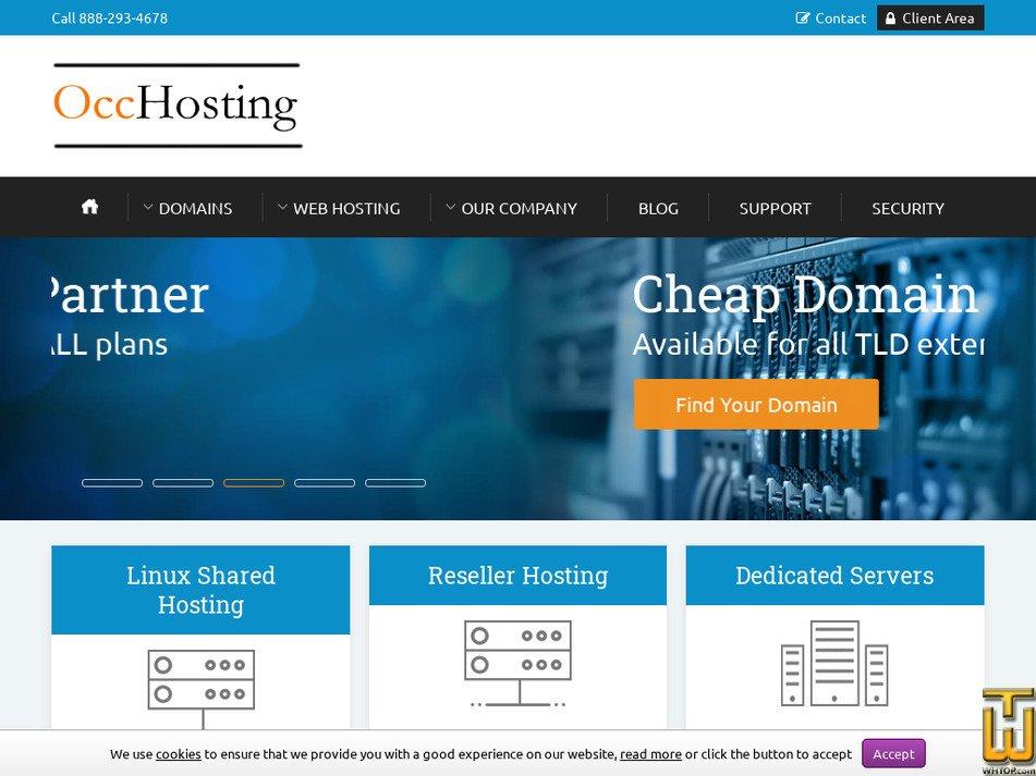 occhosting.com Screenshot
