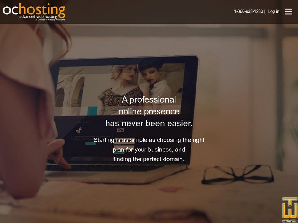 ochosting.com Screenshot