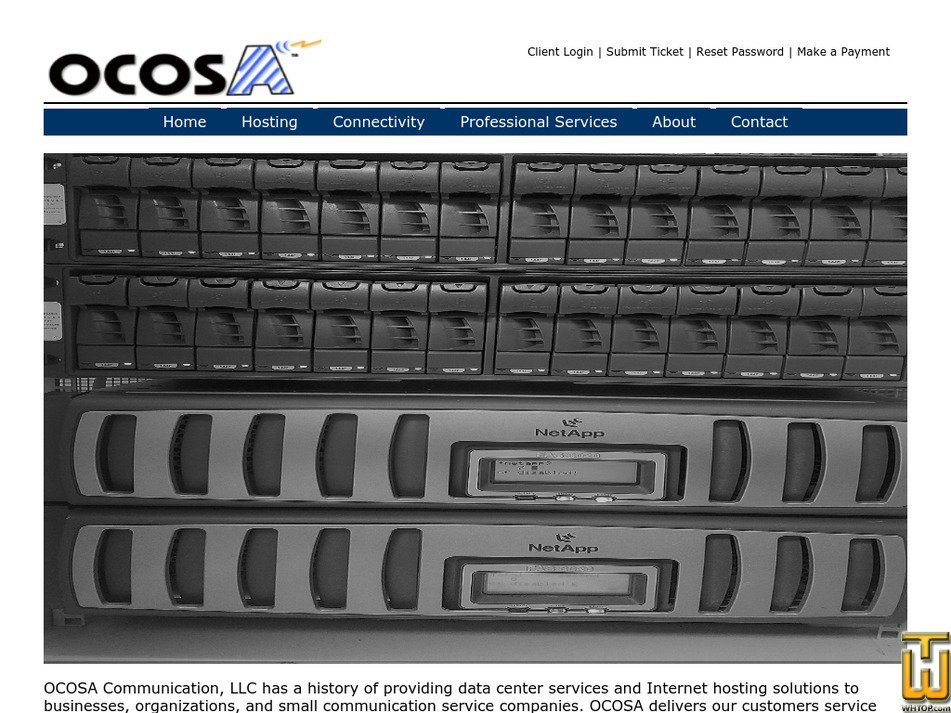 ocosa.com Screenshot