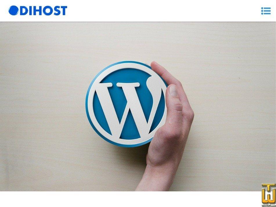 odihost.com Screenshot