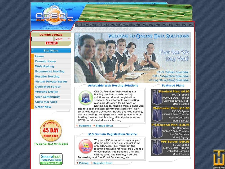 odsol.com Screenshot