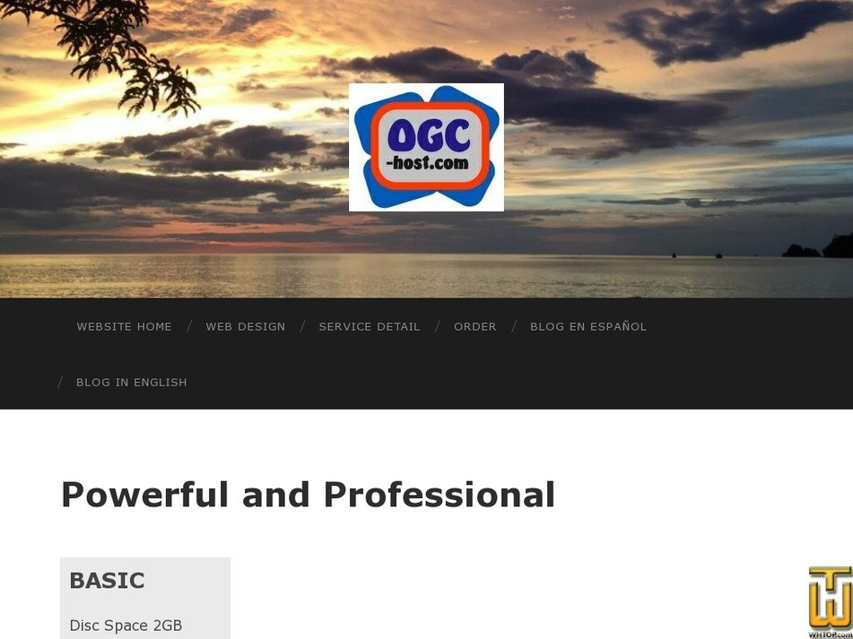 ogc-host.com Screenshot